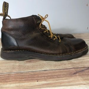 Dr. Martens men's brown boots distressed size 13